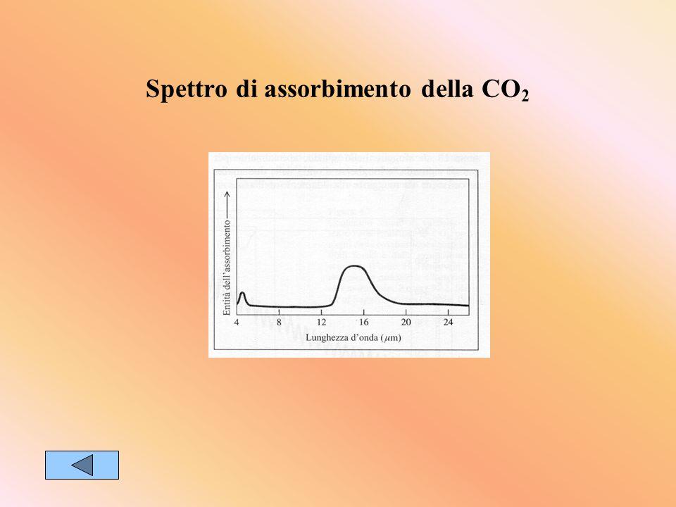 Spettro di assorbimento della CO 2
