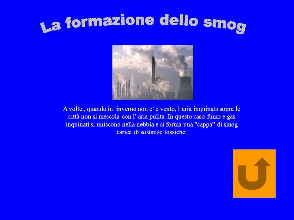 Le sostanze che provengono dai fiumi delle industrie, dagli inceneritori e del traffico si mescolano con il vapore delle nuvole e producono degli acidi che ricadono sulla terra sotto forma di piogge acide.