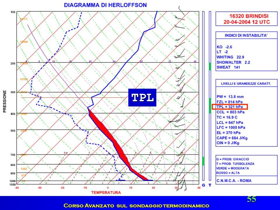 Corso Avanzato sul sondaggio termodinamico 55 TPL