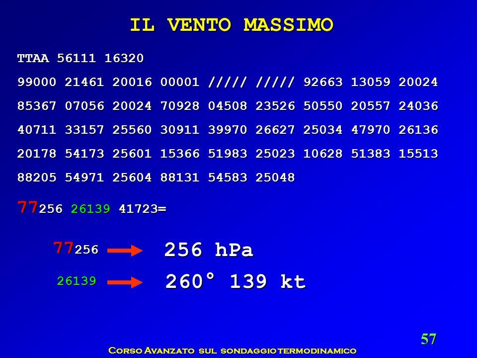 Corso Avanzato sul sondaggio termodinamico 57 TTAA 56111 16320 99000 21461 20016 00001 ///// ///// 92663 13059 20024 85367 07056 20024 70928 04508 235