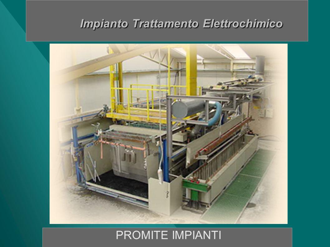 IMPIANTO TRATTAMENTO ELETTROCHIMICO Componenti Impianto Vasca Decap.