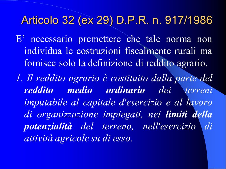 Lart. 9, comma 3-bis, del D.L. n. 557/93 introdotto dallart.