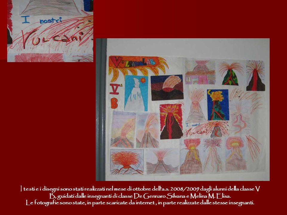 I testi e i disegni sono stati realizzati nel mese di ottobre della.s. 2008/2009 dagli alunni della classe V B, guidati dalle insegnanti di classe De