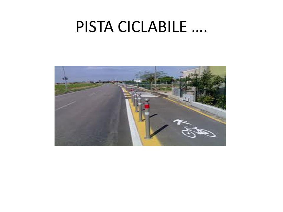 PISTA CICLABILE ….