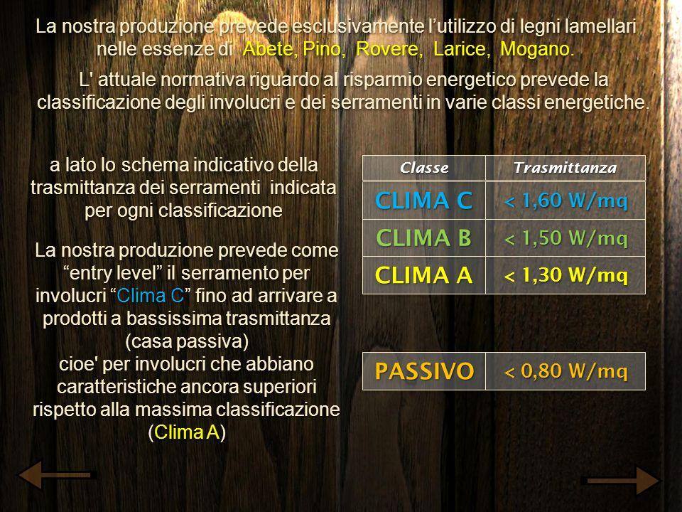 La nostra produzione prevede esclusivamente lutilizzo di legni lamellari nelle essenze di Abete, Pino, Rovere, Larice, Mogano. L' attuale normativa ri