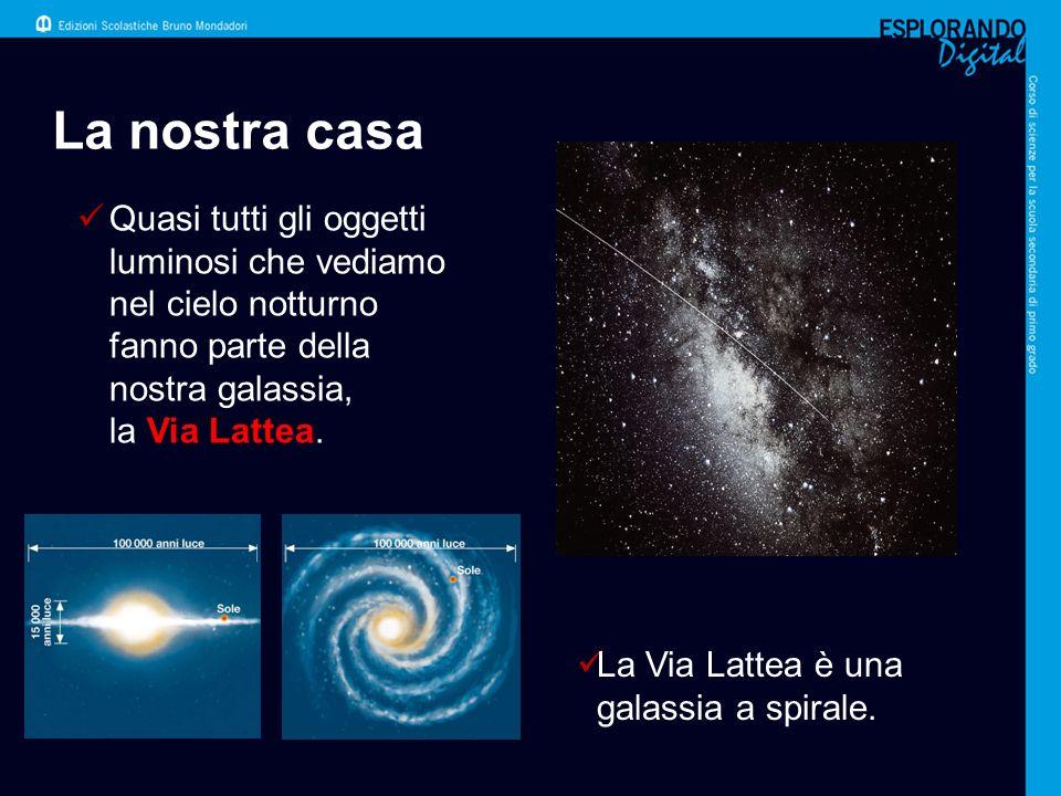 Le nebulose Le nebulose sono immense nubi di gas e polveri.