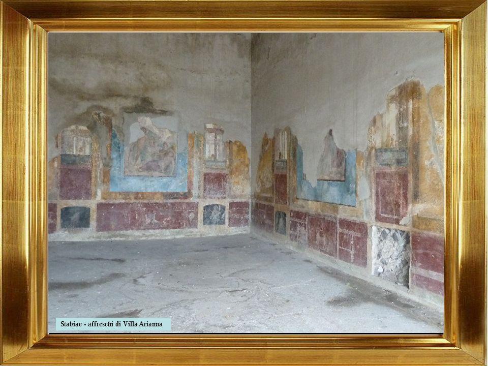 Stabiae - affreschi di Villa San Marco