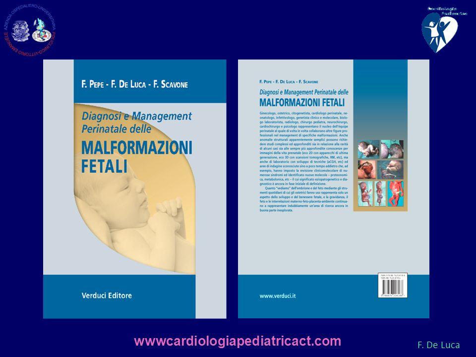 F. De Luca wwwcardiologiapediatricact.com
