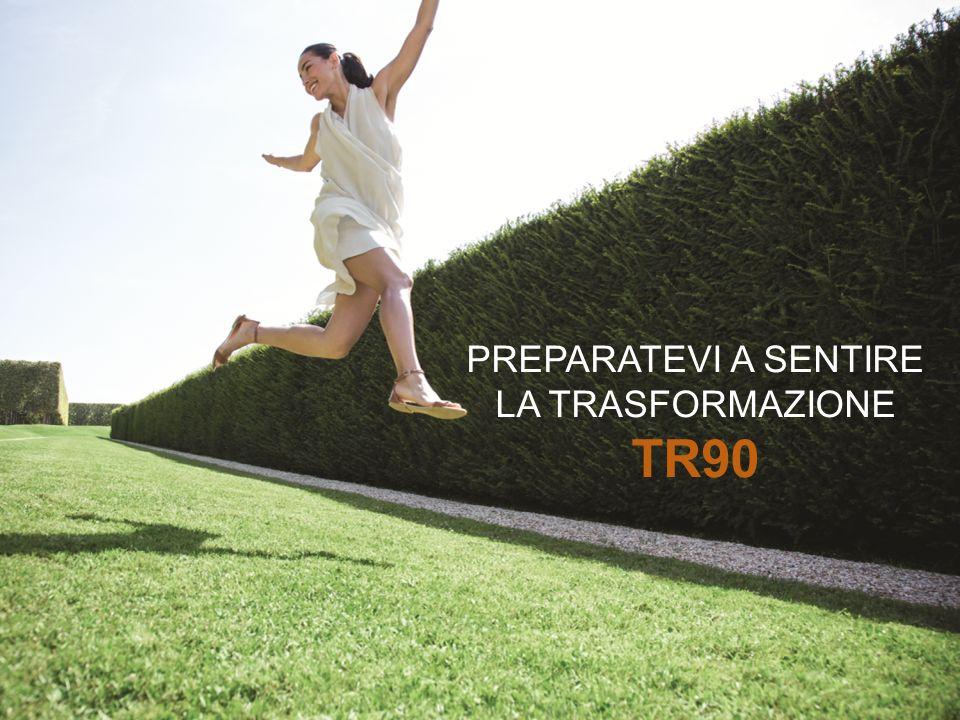 PREPARATEVI A SENTIRE LA TRASFORMAZIONE TR90