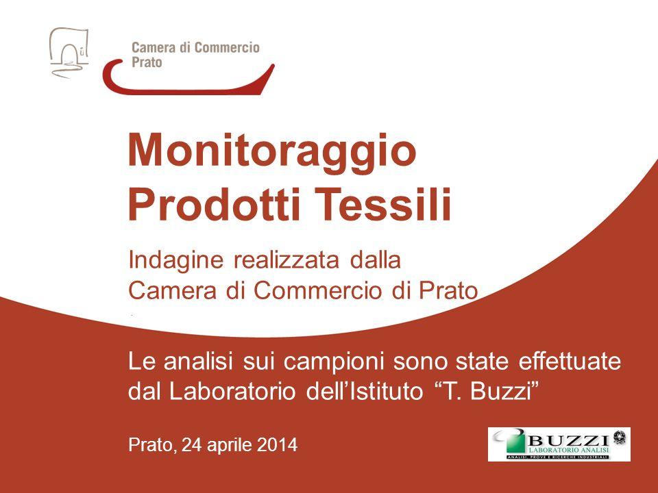 Prato, 24 aprile 2014 Indagine realizzata dalla Camera di Commercio di Prato.