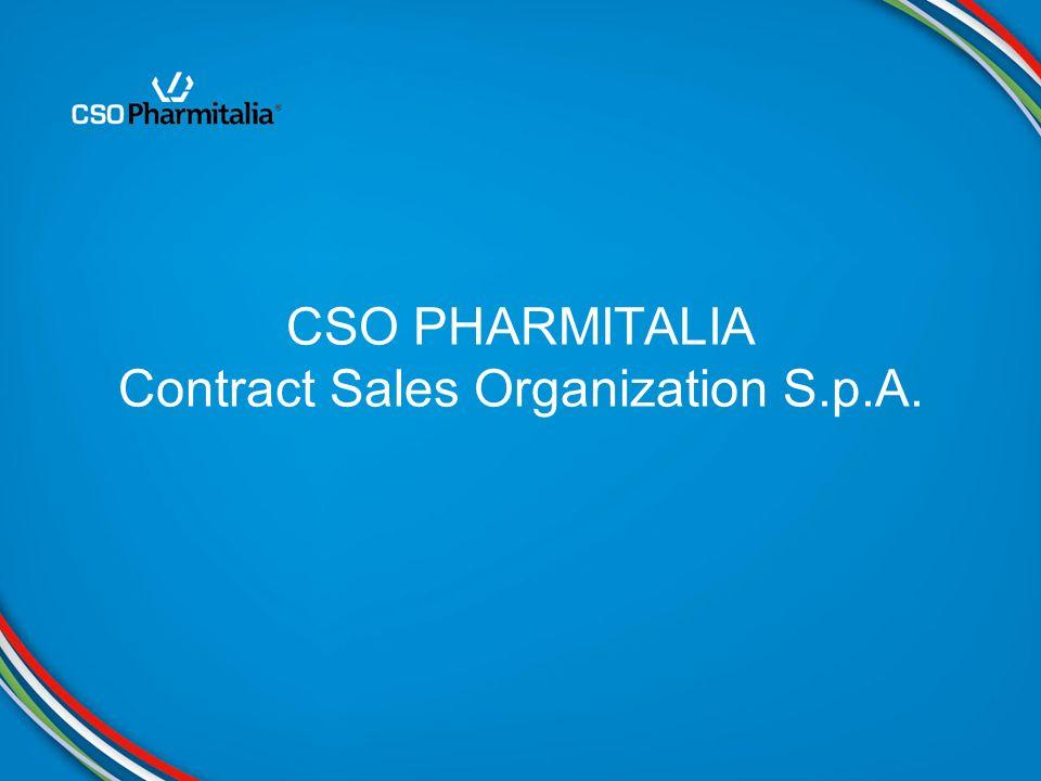 CSO PHARMITALIA intende diventare la Contract Sales Organization di riferimento per le aziende farmaceutiche operanti nel mercato italiano, mettendo a disposizione unorganizzazione mirata allECCELLENZA nelle COMPETENZE, nei PROCESSI e nella TECNOLOGIA