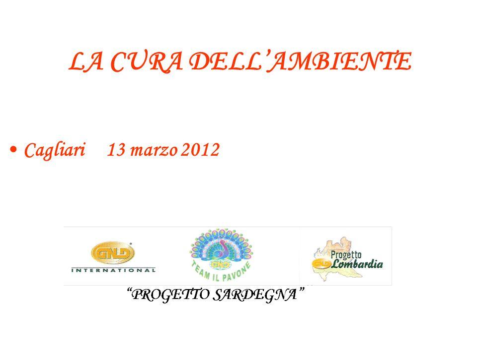 LA CURA DELLAMBIENTE Cagliari 13 marzo 2012