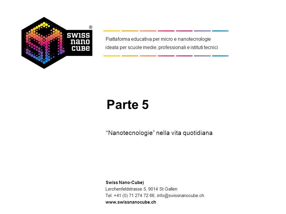 Swiss Nano-Cube) Lerchenfeldstrasse 5, 9014 St.Gallen Tel. +41 (0) 71 274 72 66, info@swissnanocube.ch www.swissnanocube.ch Piattaforma educativa per