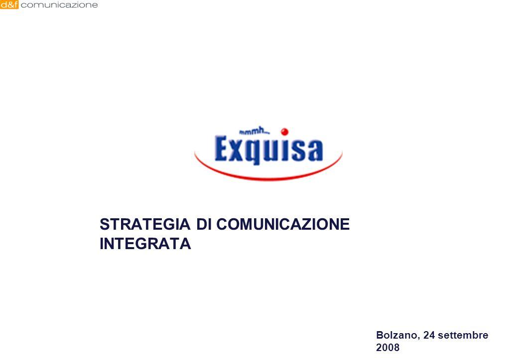 STRATEGIA DI COMUNICAZIONE INTEGRATA Bolzano, 24 settembre 2008