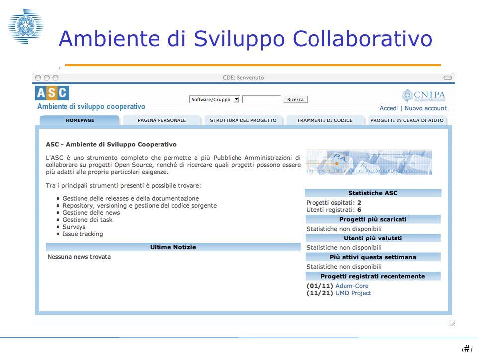 15 Ambiente di Sviluppo Collaborativo