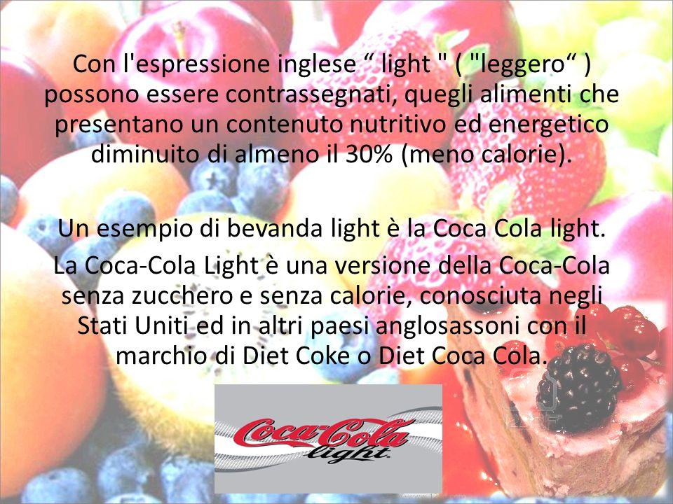Con l'espressione inglese light