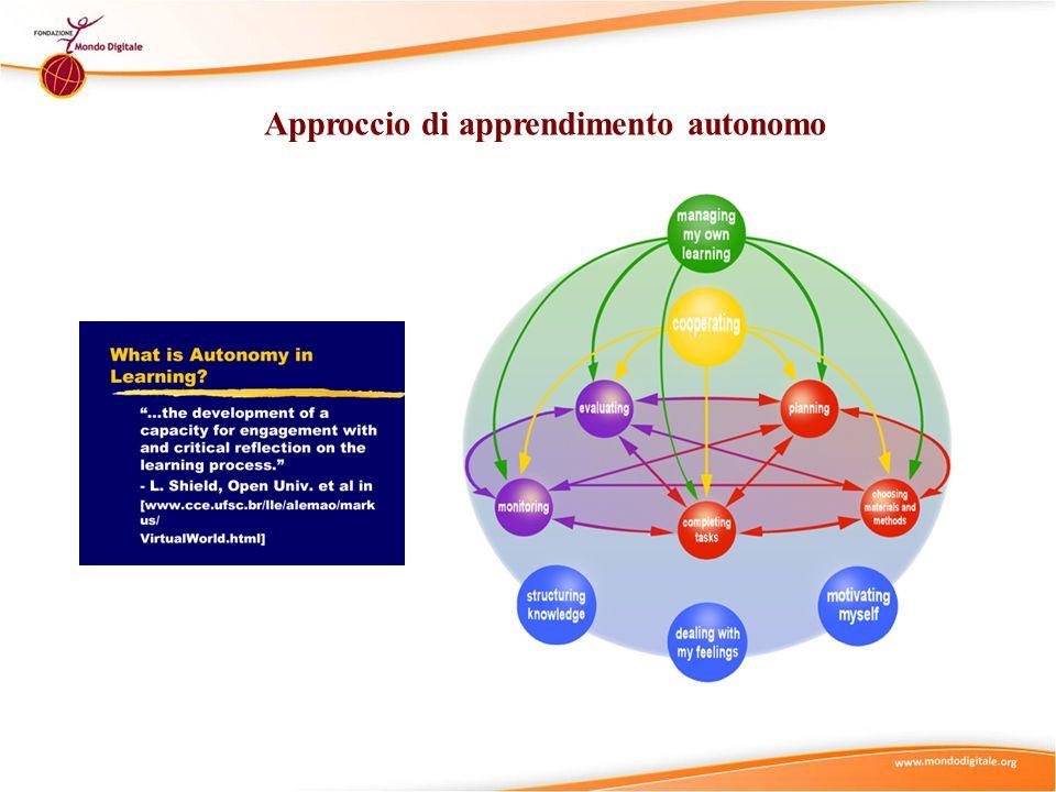 Approccio di apprendimento autonomo