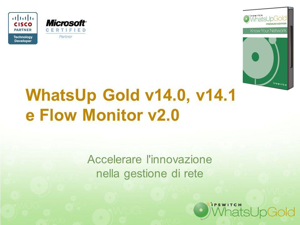 Riservato per uso aziendale. Non diffondere e non citare Descrizione dei prodotti Flow Monitor v2.0