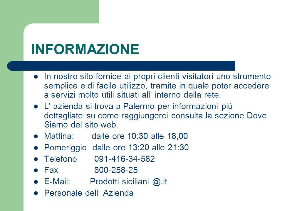 SERVIZI OFFERTI Servizi di acquisti on-line Servizi a domicilio pronta consegna in tutta la sicilia
