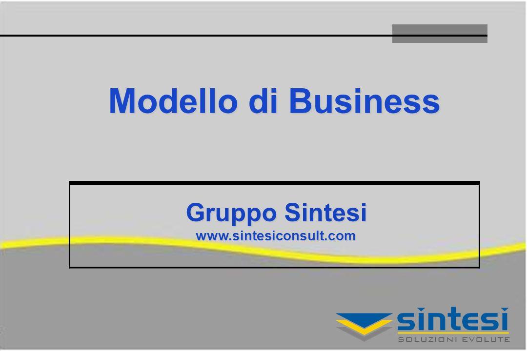 Modello di Business Gruppo Sintesi www.sintesiconsult.com