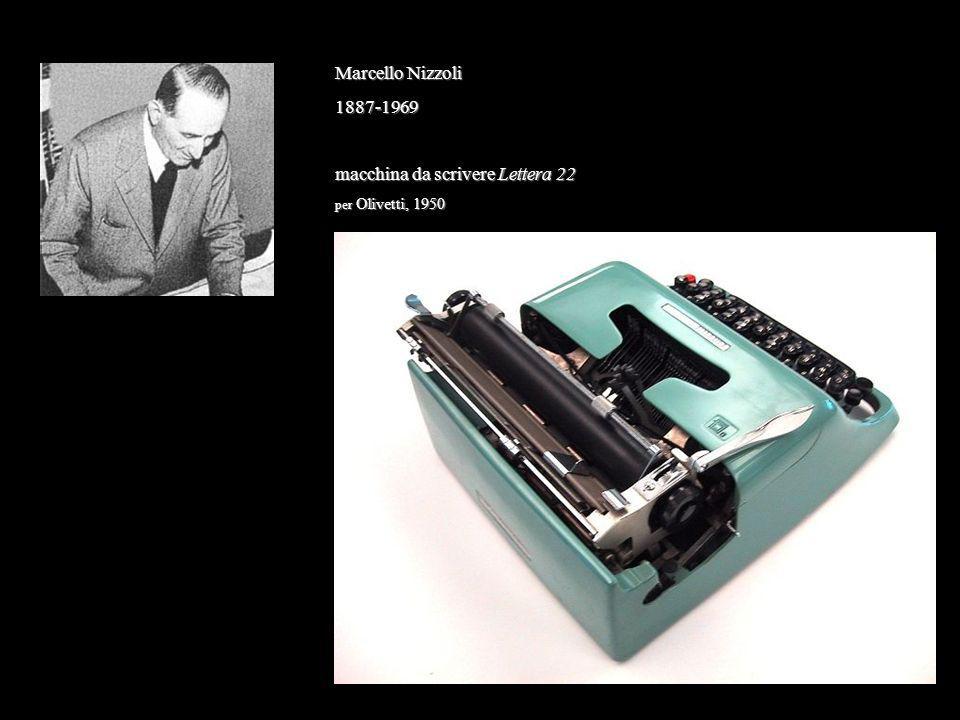 Marcello Nizzoli 1887-1969 macchina da scrivere Lettera 22 per Olivetti, 1950