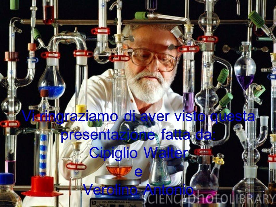 Vi ringraziamo di aver visto questa presentazione fatta da: Cipiglio Walter e Verolino Antonio
