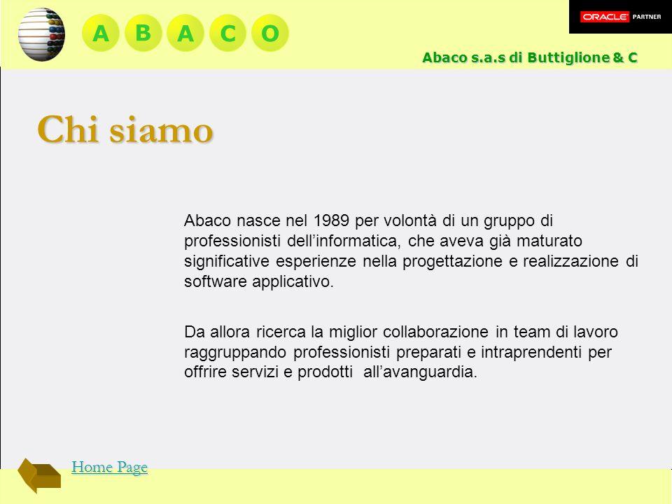 A BACO Abaco nasce nel 1989 per volontà di un gruppo di professionisti dellinformatica, che aveva già maturato significative esperienze nella progetta