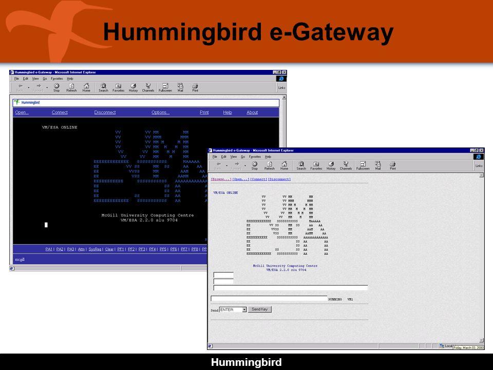 Hummingbird Hummingbird e-Gateway