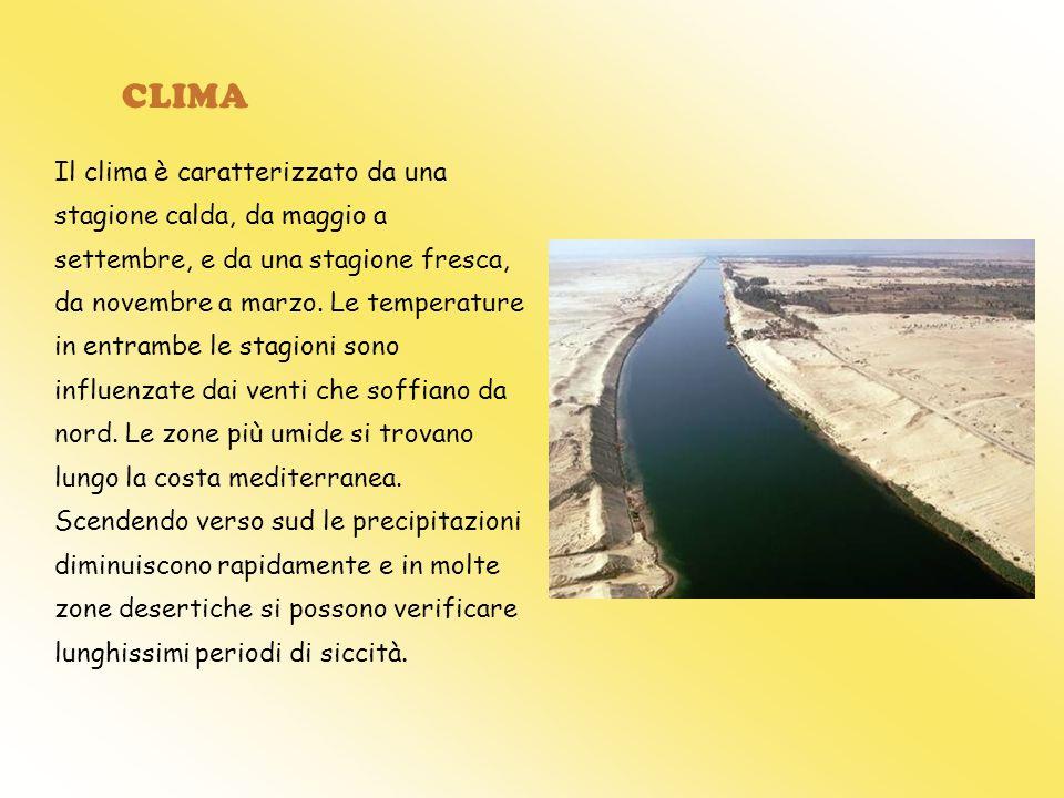 CLIMA Il clima è caratterizzato da una stagione calda, da maggio a settembre, e da una stagione fresca, da novembre a marzo. Le temperature in entramb