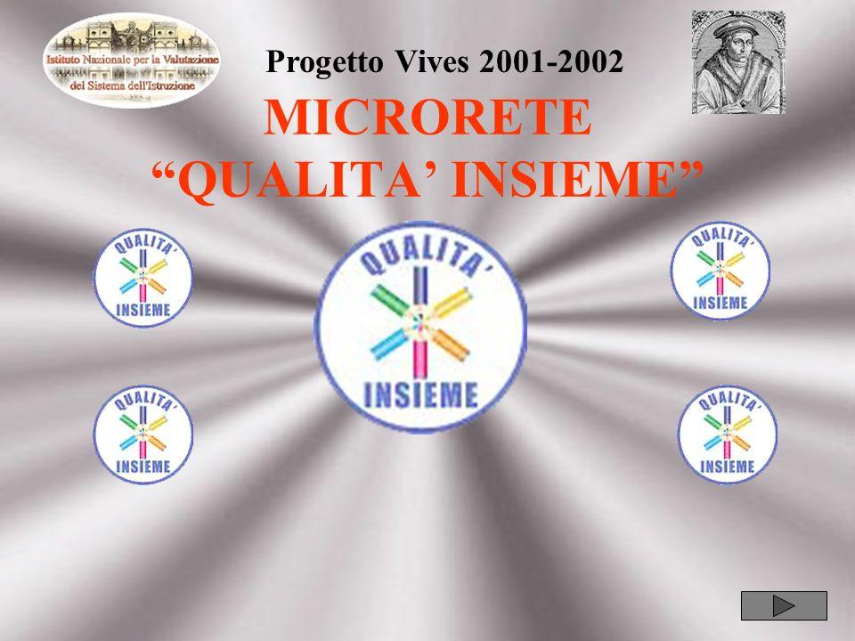 MICRORETE QUALITA INSIEME Progetto Vives 2001-2002