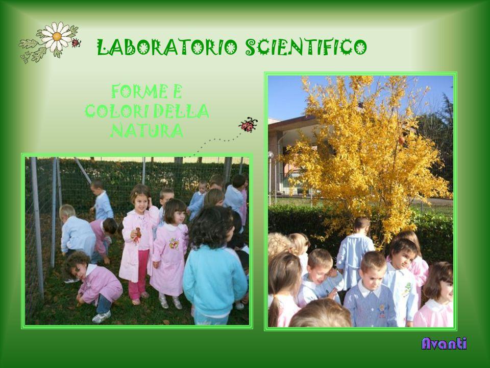 LABORATORIO SCIENTIFICO FORME E COLORI DELLA NATURA