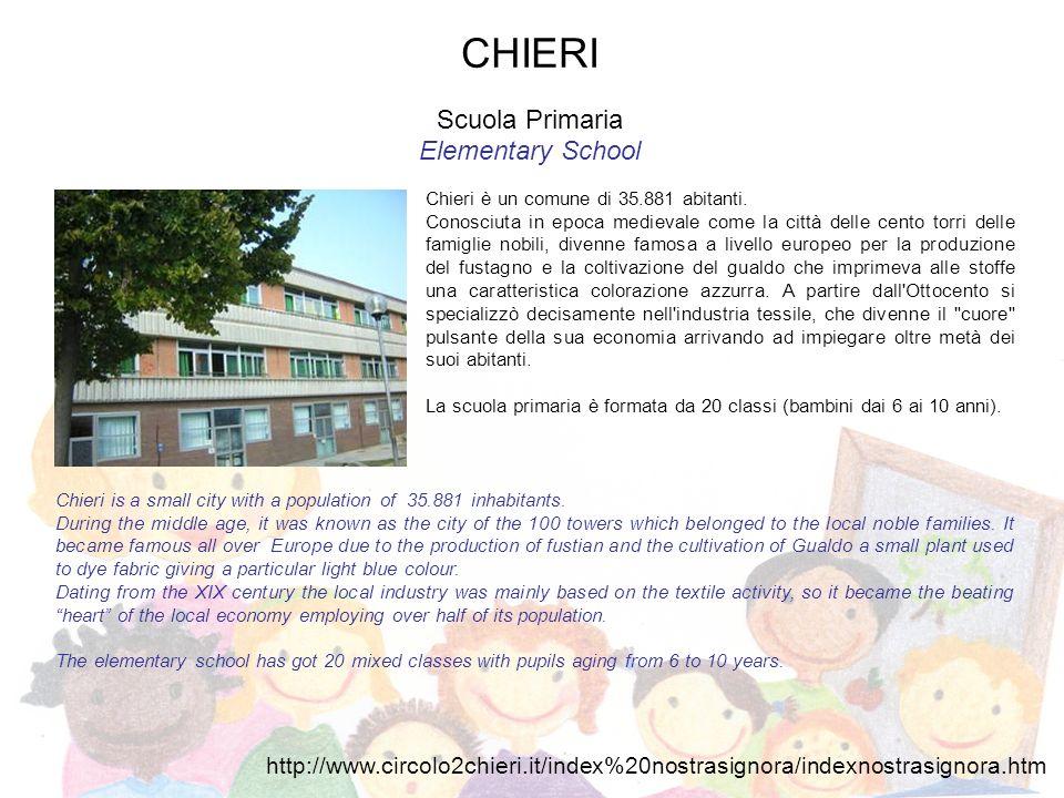ARIGNANO Scuola dellInfanzia Kindergarten Arignano è un comune di 1052 abitanti della provincia di Torino.