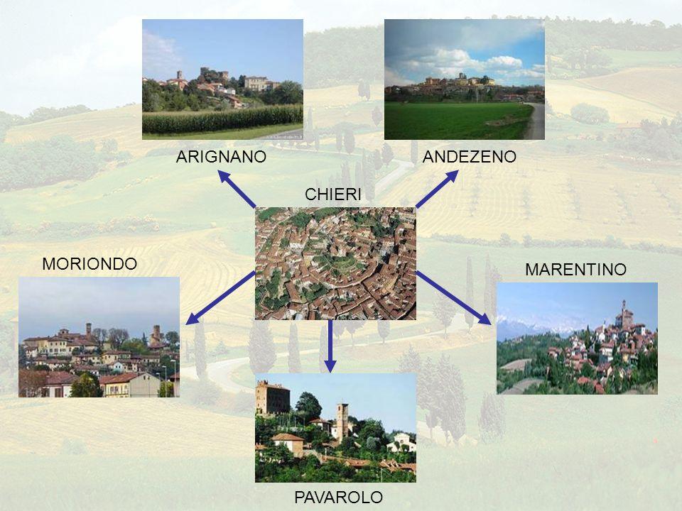 2° Circolo Didattico di Chieri Il nostro circolo, situato tra le colline della prima cintura di Torino, è costituito da sei sedi, dislocate nei rispettivi paesi.