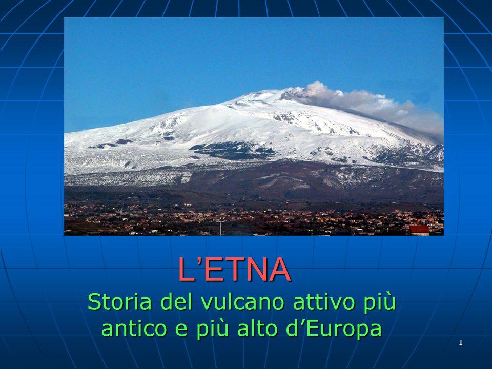 1 LETNA Storia del vulcano attivo più antico e più alto dEuropa