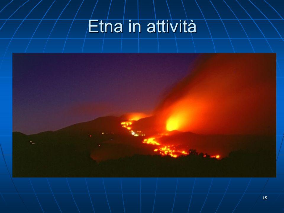 15 Etna in attività
