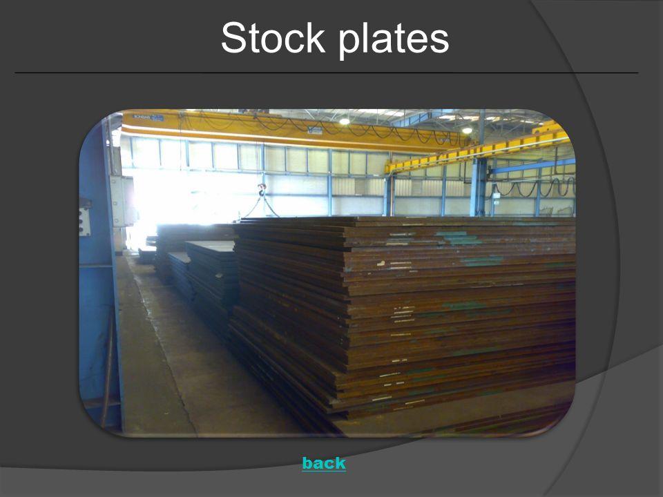 Stock plates back