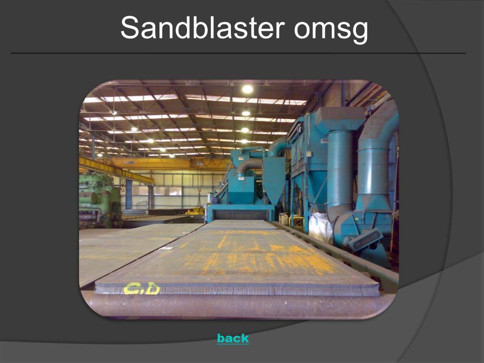 Sandblaster omsg back