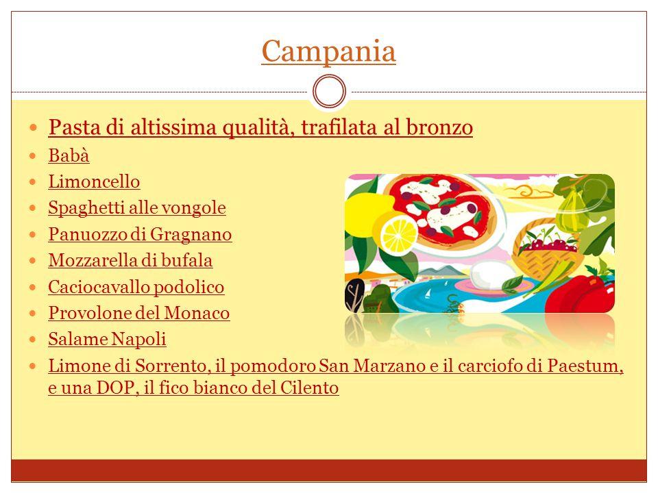 Calabria Sardella Neonata Nduja Peperoncino, Caciocavalli Tonno sott olio Soppressata di Calabria DOP Vari pecorini tra cui ricordiamo quello di Poro