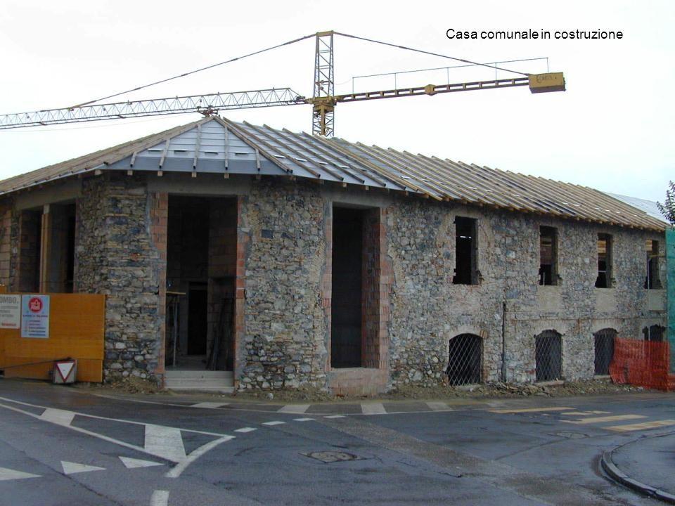Casa comunale in costruzione