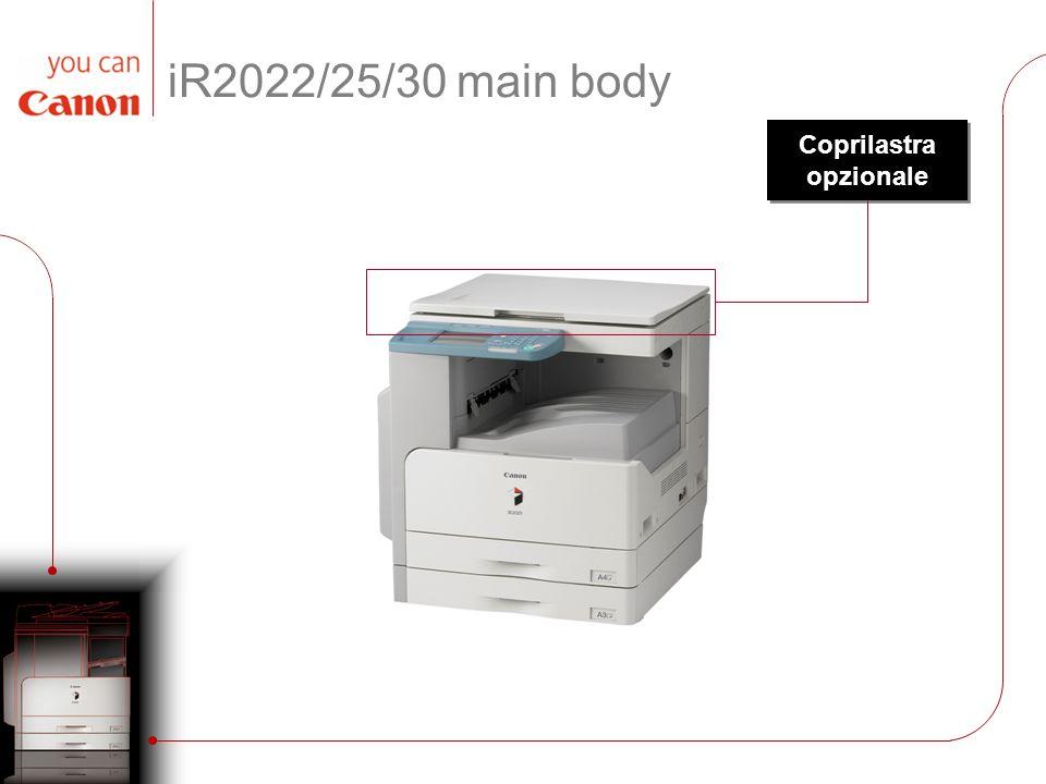 iR2022/25/30 main body Coprilastra opzionale