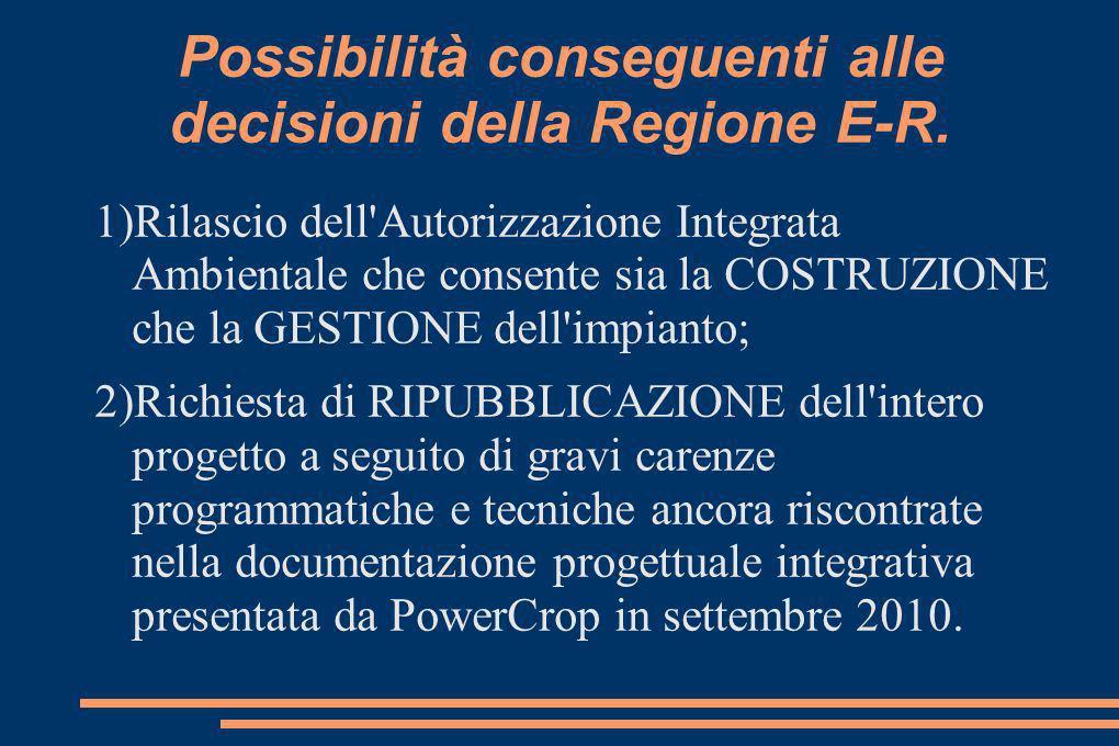 Alimentazione della centrale (2) Il contratto fra Coldiretti, Consorzi Agrari dItalia e S.E.C.I.