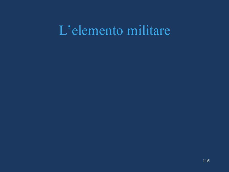 116 Lelemento militare