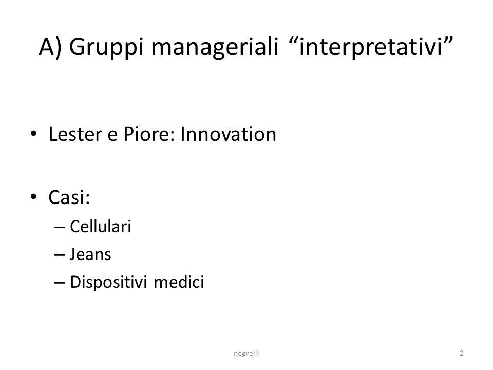 2 I network dellinnovazione Serafino Negrelli