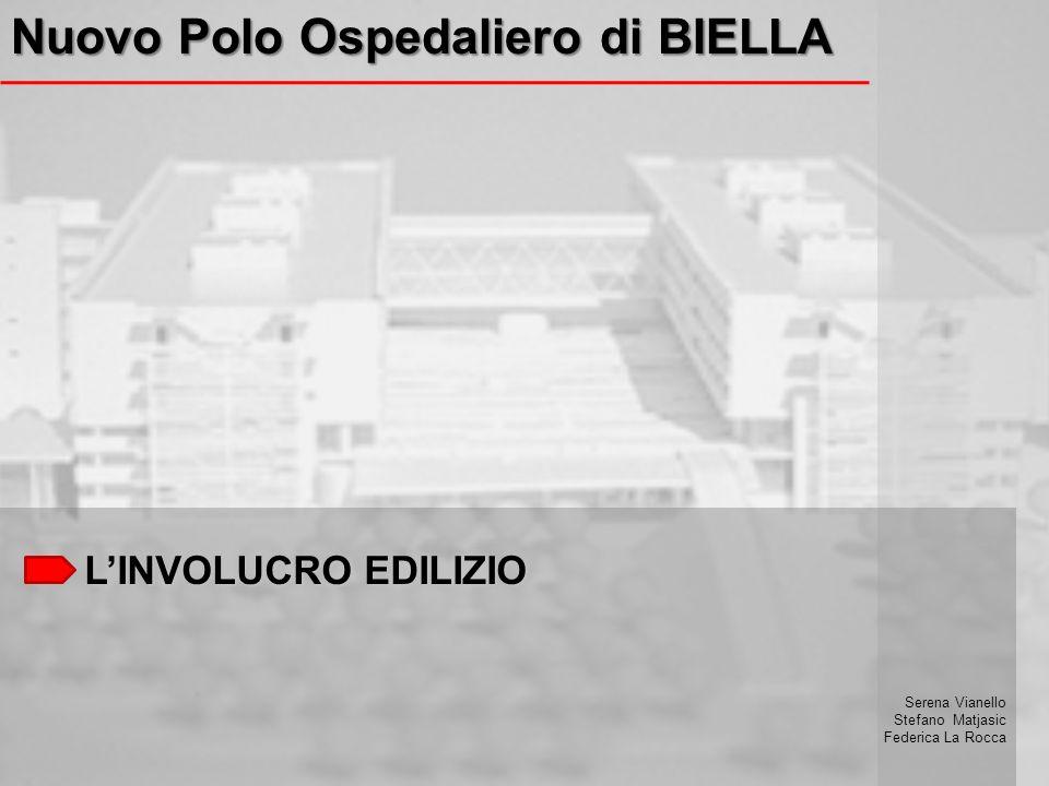 LINVOLUCRO EDILIZIO Nuovo Polo Ospedaliero di BIELLA Serena Vianello Stefano Matjasic Federica La Rocca
