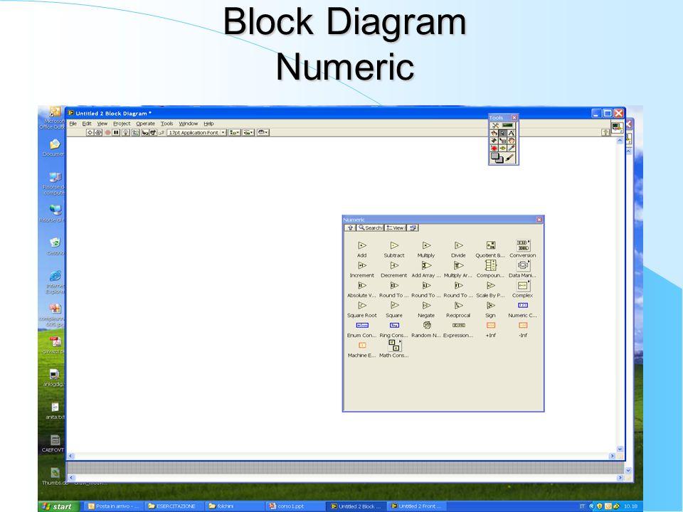 Block Diagram Numeric