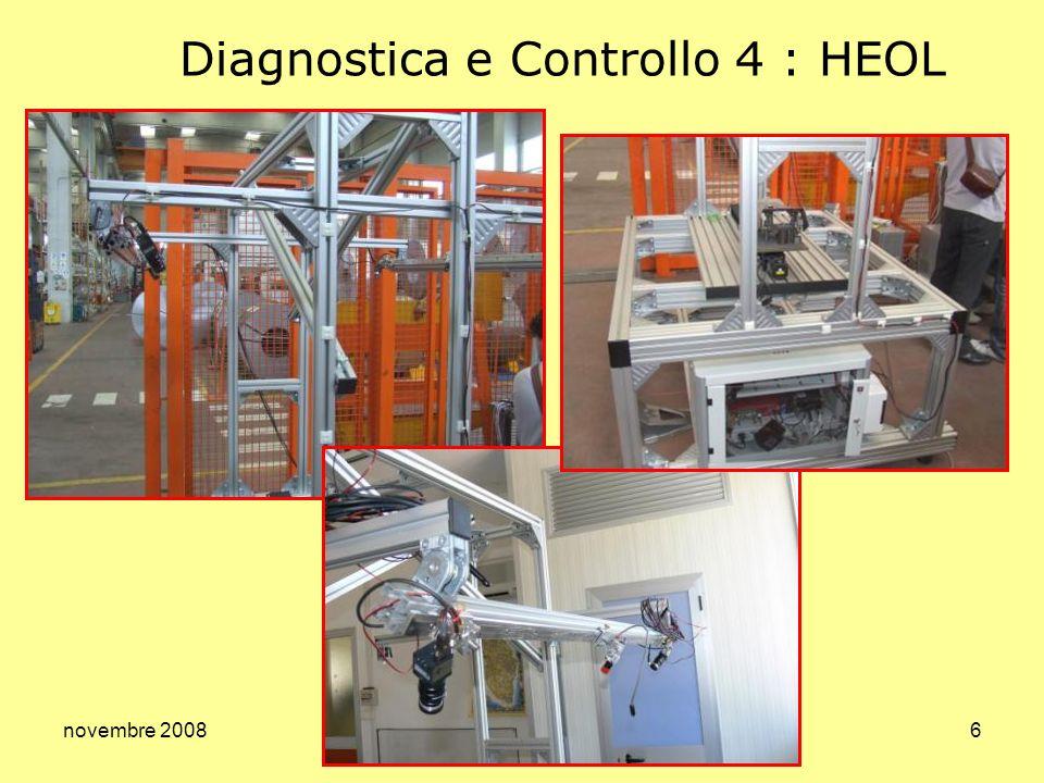 novembre 20086 Diagnostica e Controllo 4 : HEOL