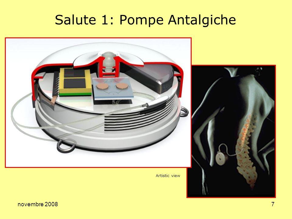 novembre 20087 Salute 1: Pompe Antalgiche Artistic view