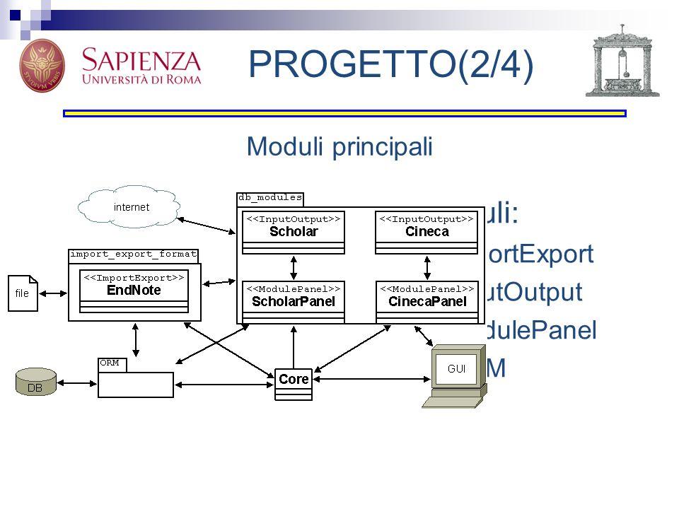 PROGETTO(3/4) Classe Scholar Gestione produttore/consumatore