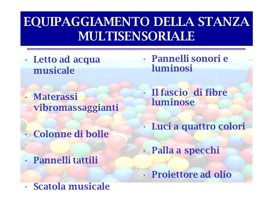LETTO AD ACQUA MUSICALE Stimolazione tattile, posturale, vibratoria e propriocettiva.