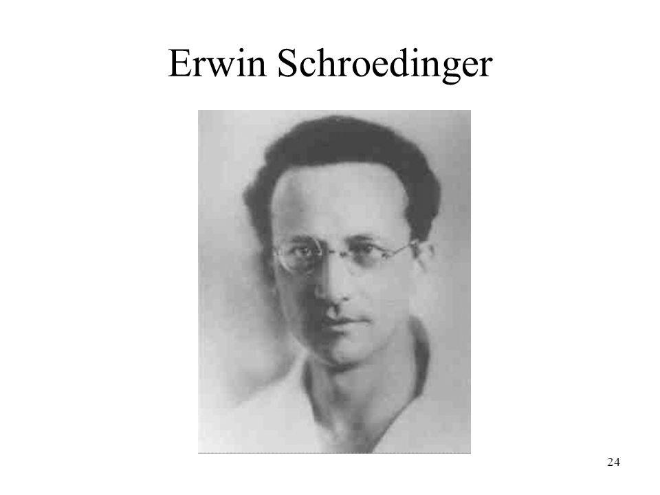 24 Erwin Schroedinger